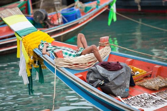Fisker i Burma